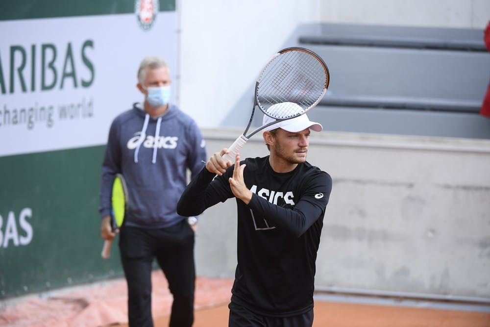 David Goffin, Roland-Garros 2020, vendredi 25 septembre