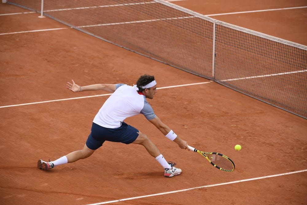 Marco Cecchinato, Roland-Garros 2020, qualifying second round.