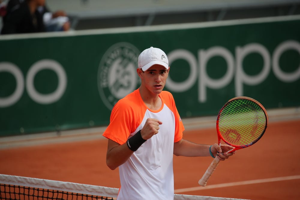 Gustavo Heide winner of the Roland-Garros Junior Wild Card series 2019