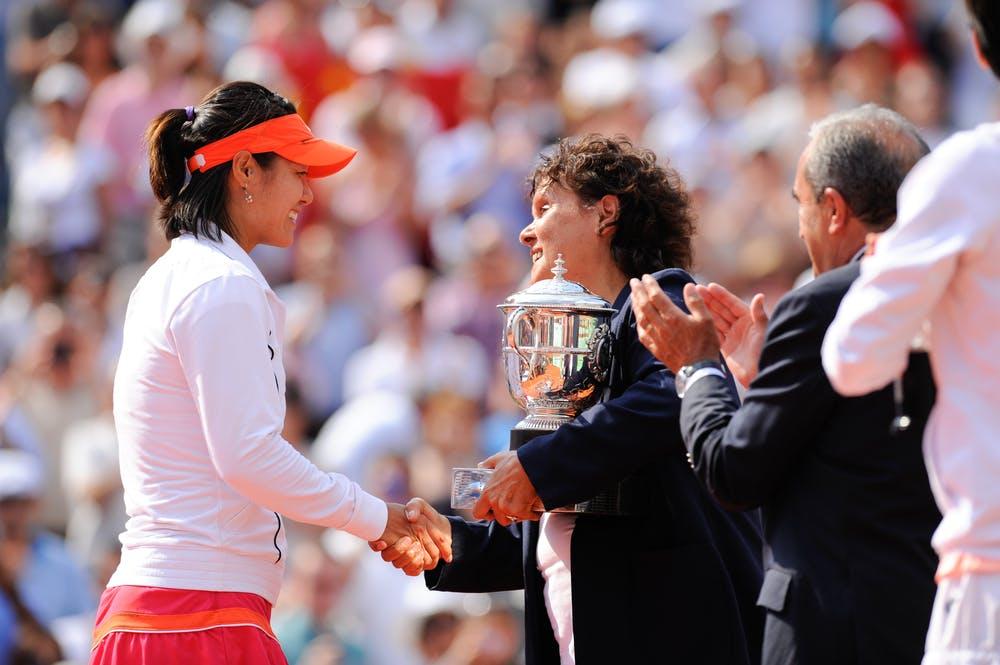 Li Na, Evonne Goolagong Cawley, Roland-Garros 2011, final