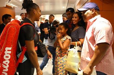 Mike Tyson Serena Williams  troisième tour Roland-Garros 2018