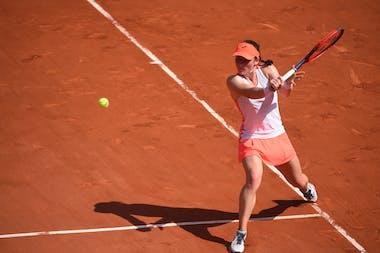Tamara Zidansek, Roland-Garros 2021, semi-final