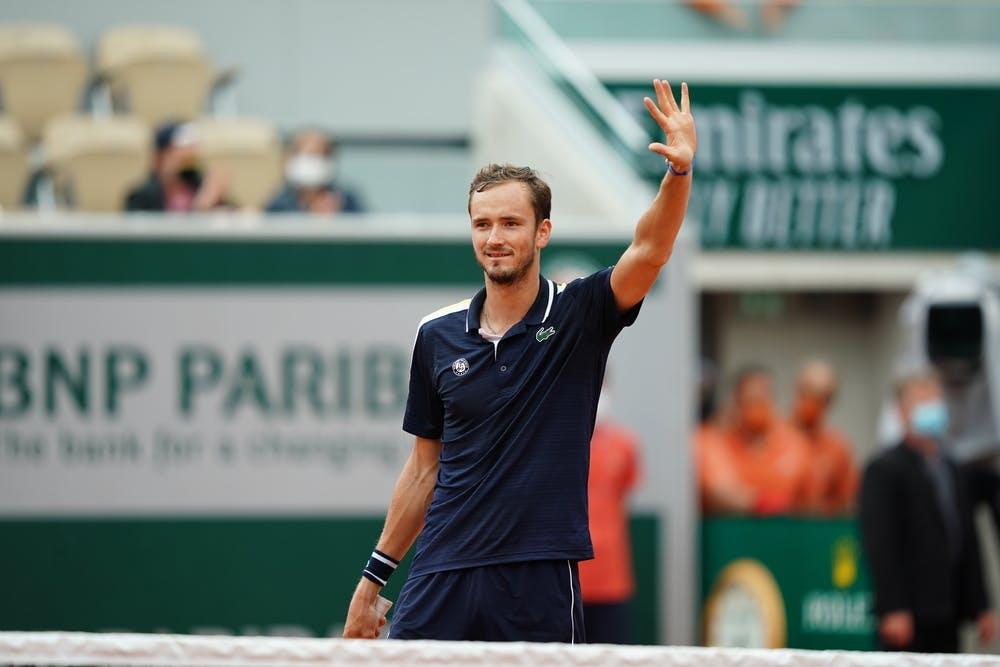Daniil Medvedev - Troisième tour / Roland-Garros 2021