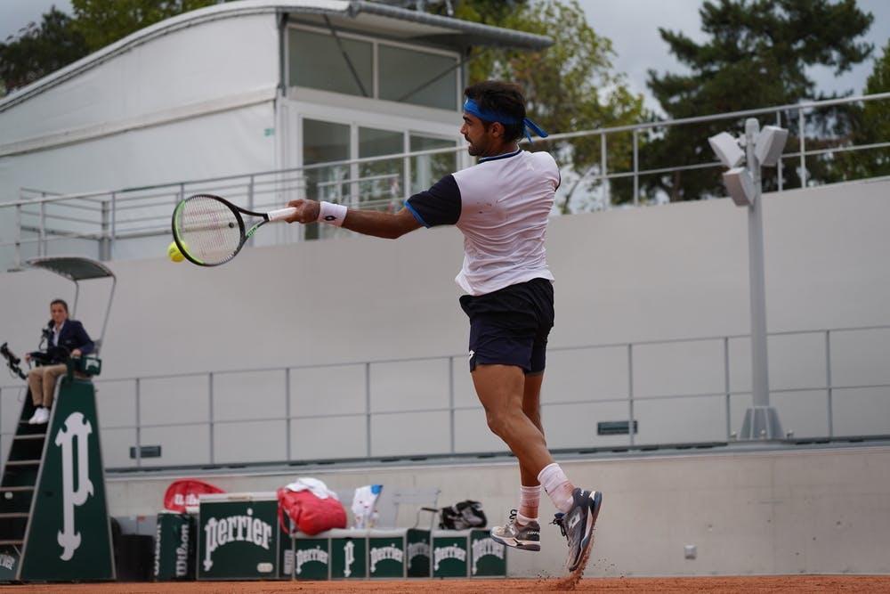 Frederico Ferreira Silva, Roland-Garros 2020, qualifying second round.