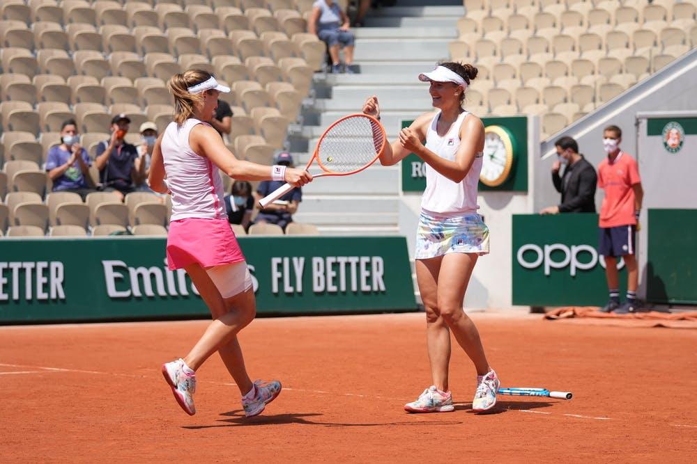 Irina-Camelia Begu, Nadia Podoroska, Roland-Garros 2021, women's doubles 1/4