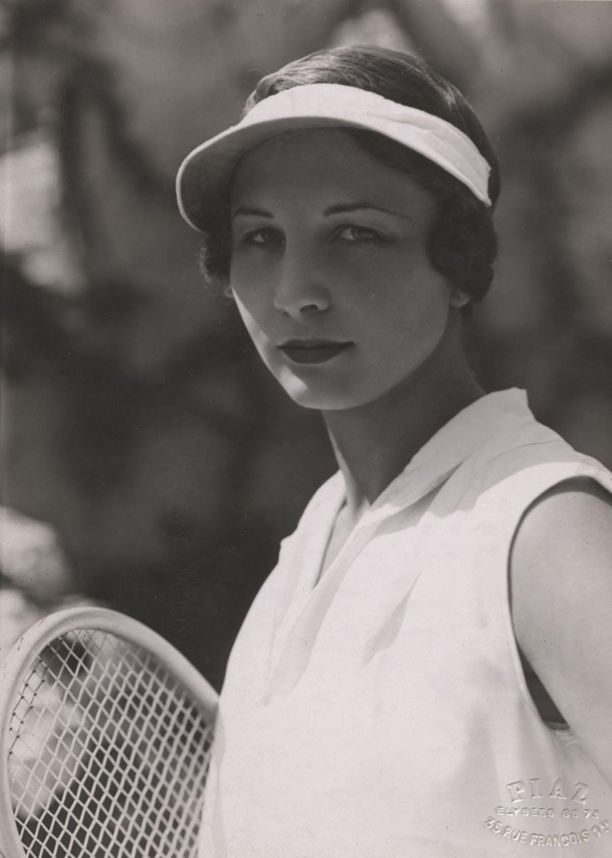 Helen Wills Moody.