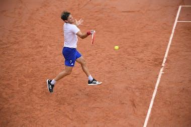 Dominic Thiem, Roland-Garros 2020, entraînement, jeudi 24 septembre
