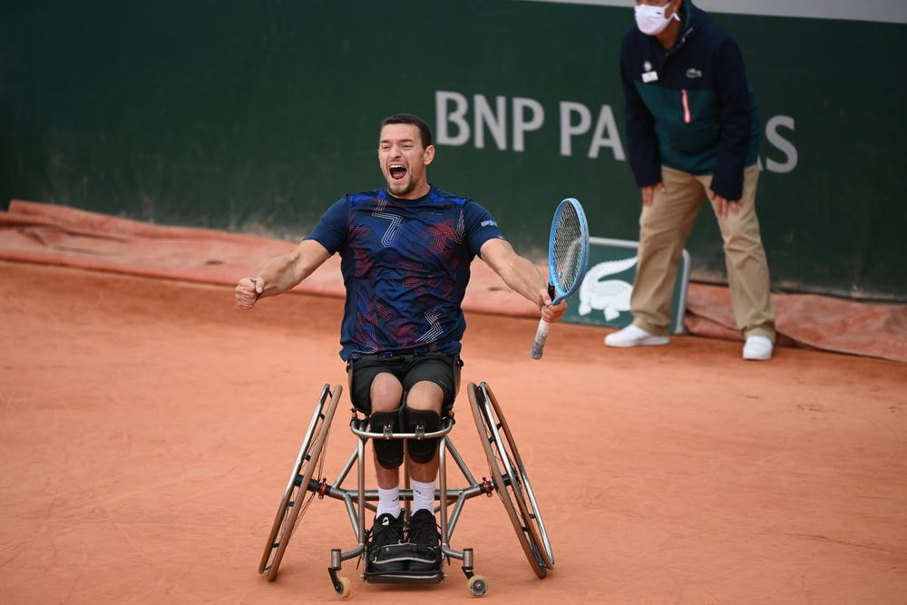 Joachim Gerard, Roland Garros 2020, wheelchair singles semi-finals