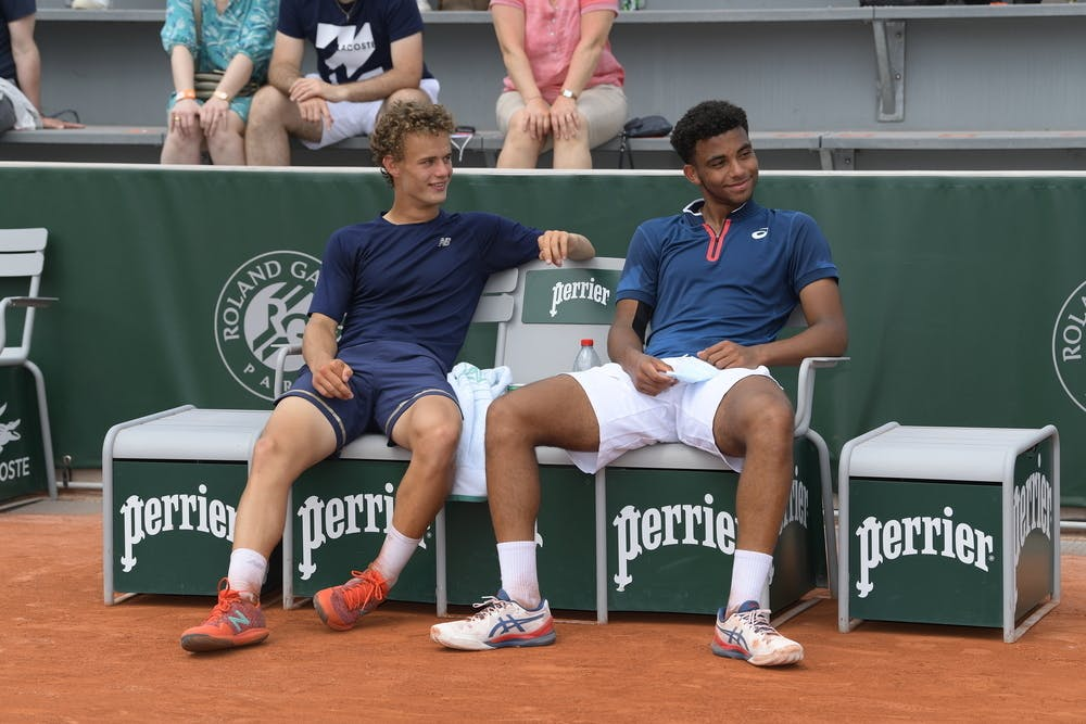 Luca van Assche, Arthur Fils, Roland-Garros 2021, boys singles final