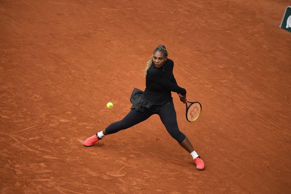 Serena Williams, Roland-Garros 2020, 1er tour