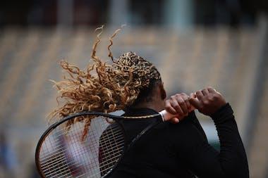 Serena Williams, Roland Garros 2020, first round