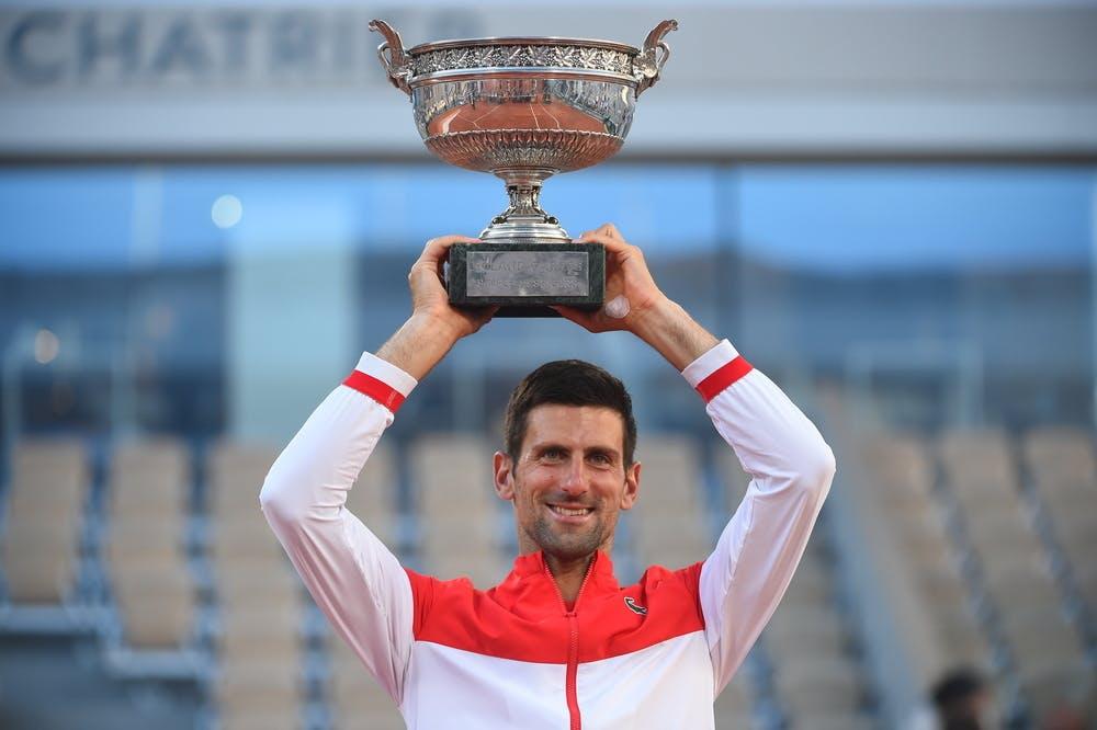 Novak Djokovic, Roland-Garros 2021 final
