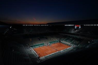 Session de soirée - Roland-Garros 2021
