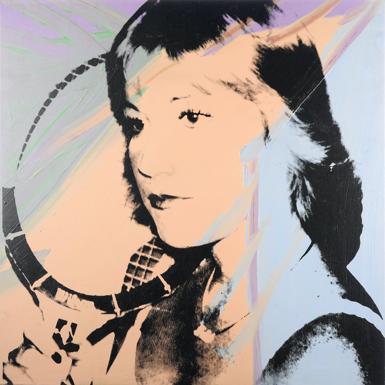 Chris Evert par Andy Warhol