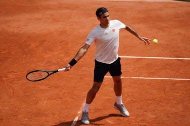 Roland-Garros 2019 - Roger Federer - entraînement
