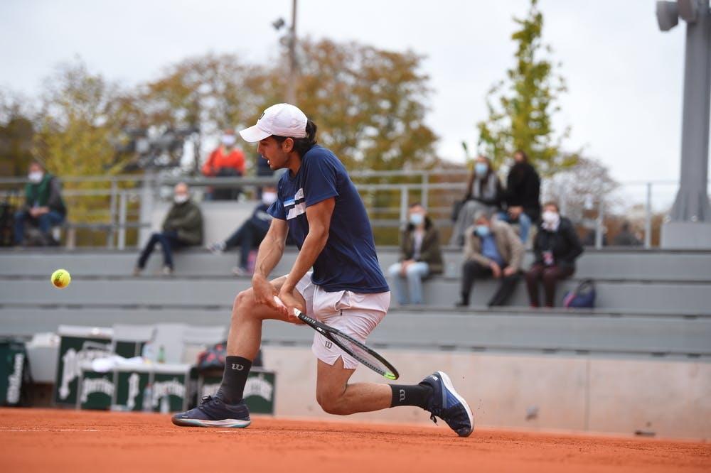 Juan Bautista Torres, Roland Garros 2020, juniors quarter-finals