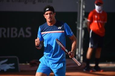 Emilio Gomez Roland Garros 2020 qualifying first round