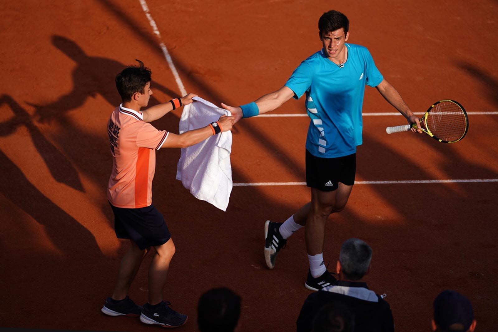 Ramasseurs de balles - Roland-Garros 2019