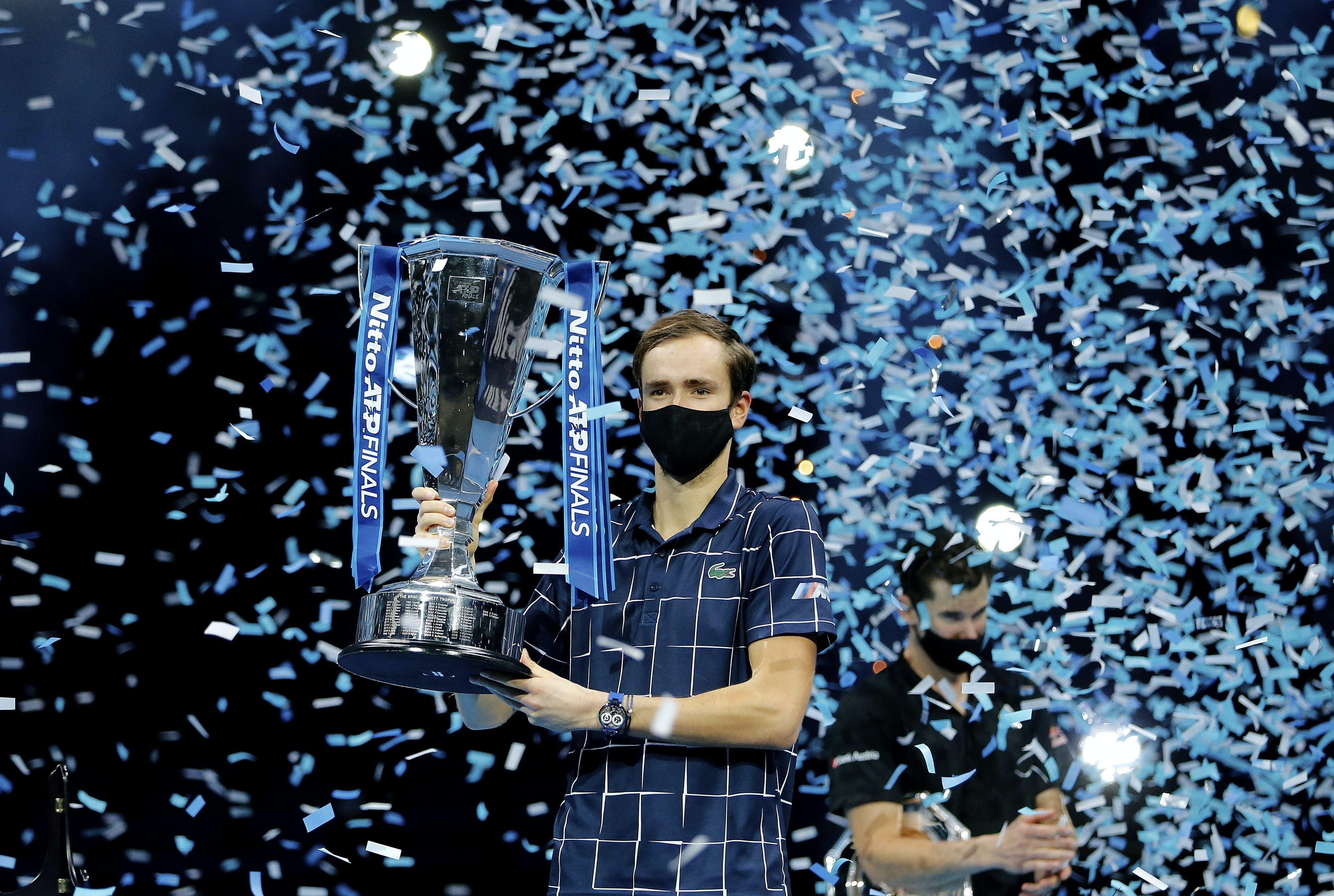 Daniil Medvedev ATP Finals 2020