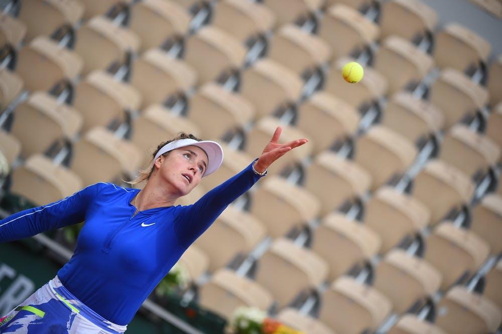 Elina Svitolina, Roland Garros 2020, third round
