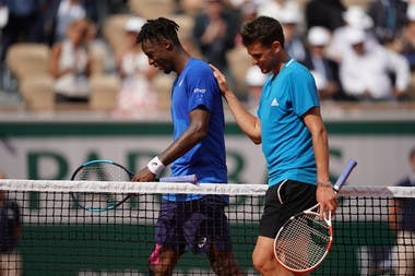 Dominic Thiem and Gael Monfils