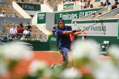 Lorenzo Musetti, Roland-Garros 2021, last 16