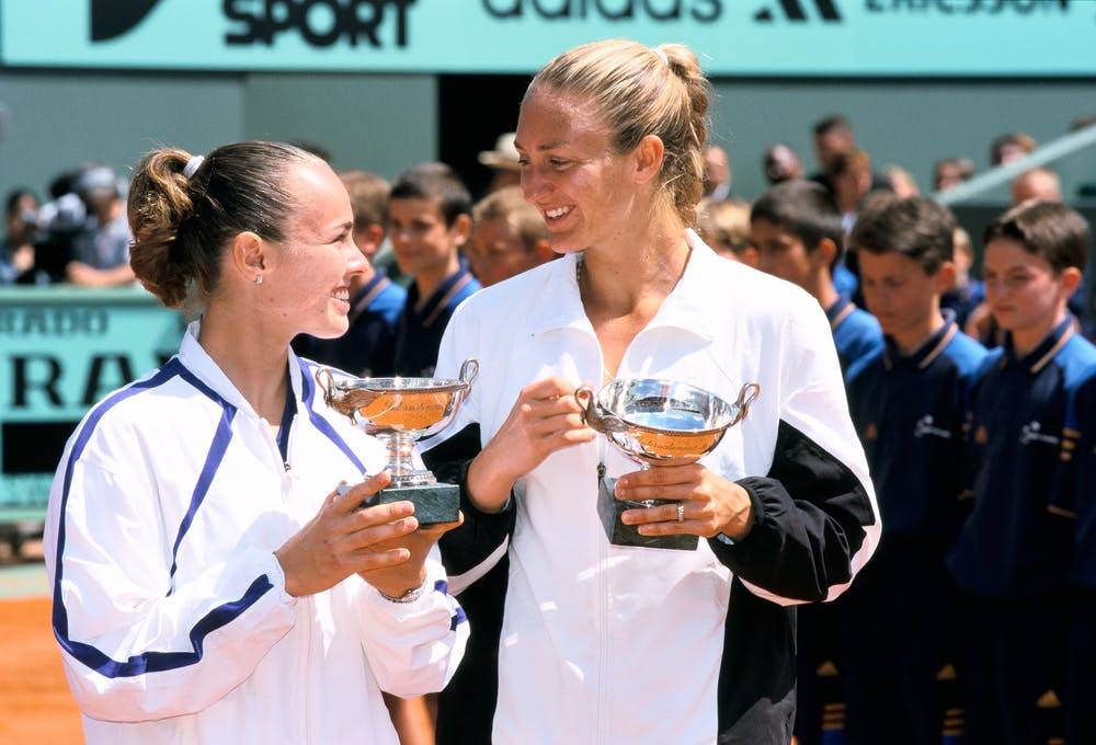Mary Pierce, Martina Hingis, Roland Garros 2000, doubles final
