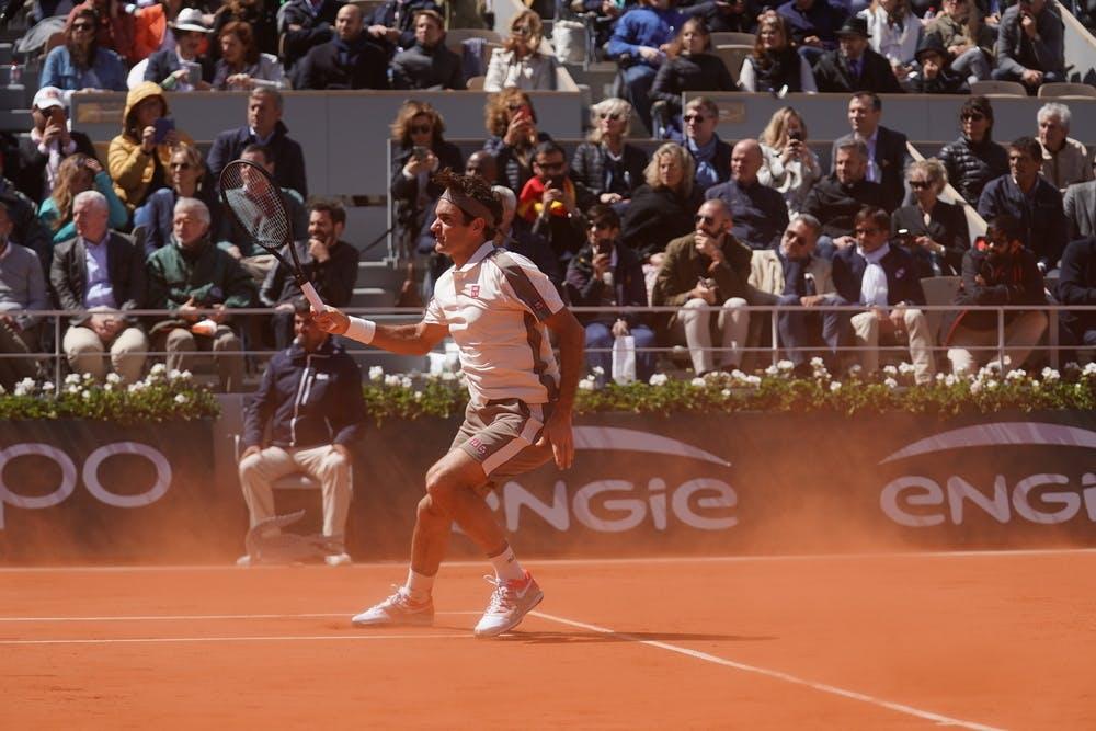 Roger Federer, Roland-Garros 2019