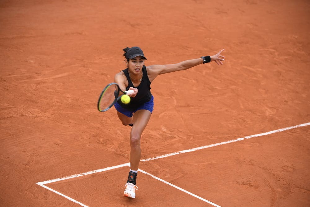 Astra Sharma, Roland-Garros 2020, qualifying first round.