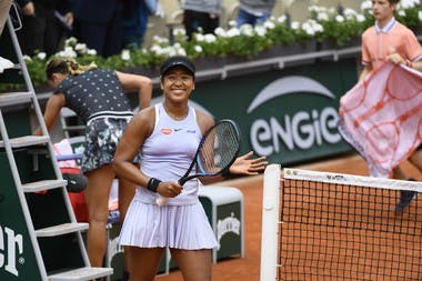 Naomi Osaka second round Roland Garros 2019