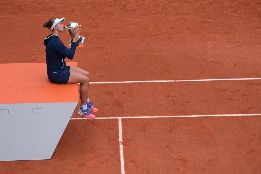 Barbora Krejcikova, Roland-Garros 2012, final