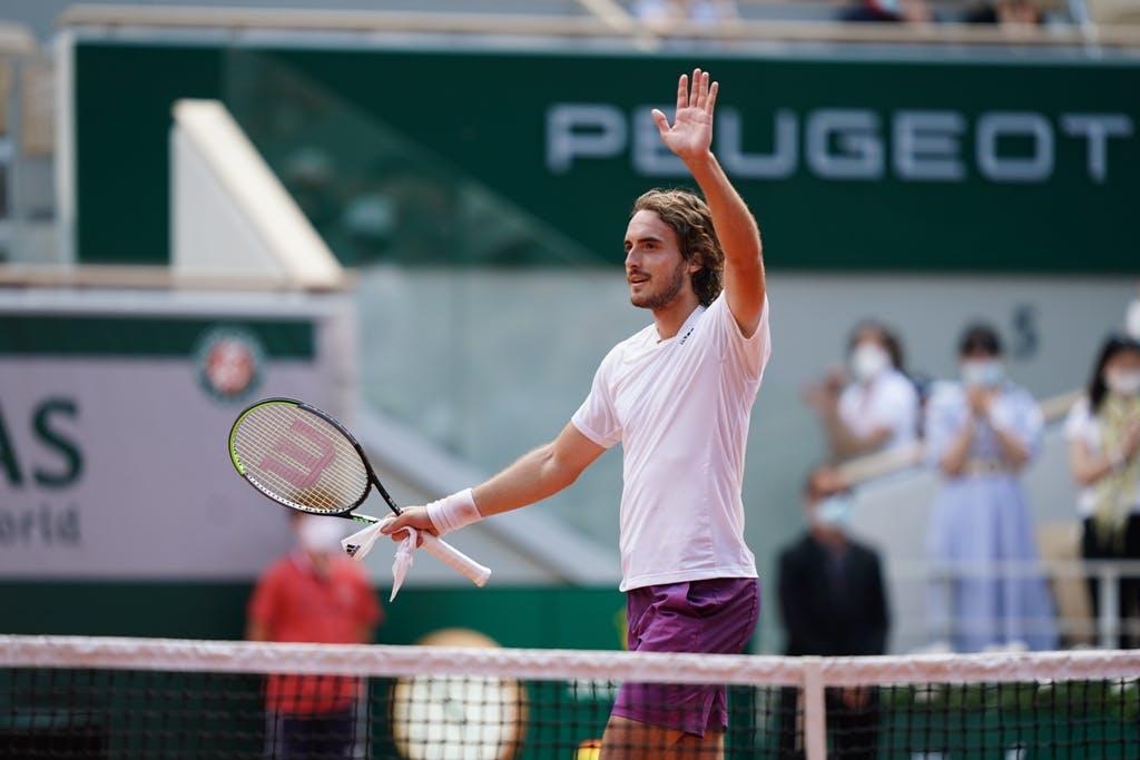 Stefanos Tsitsipas, Roland Garros 2021, fourth round