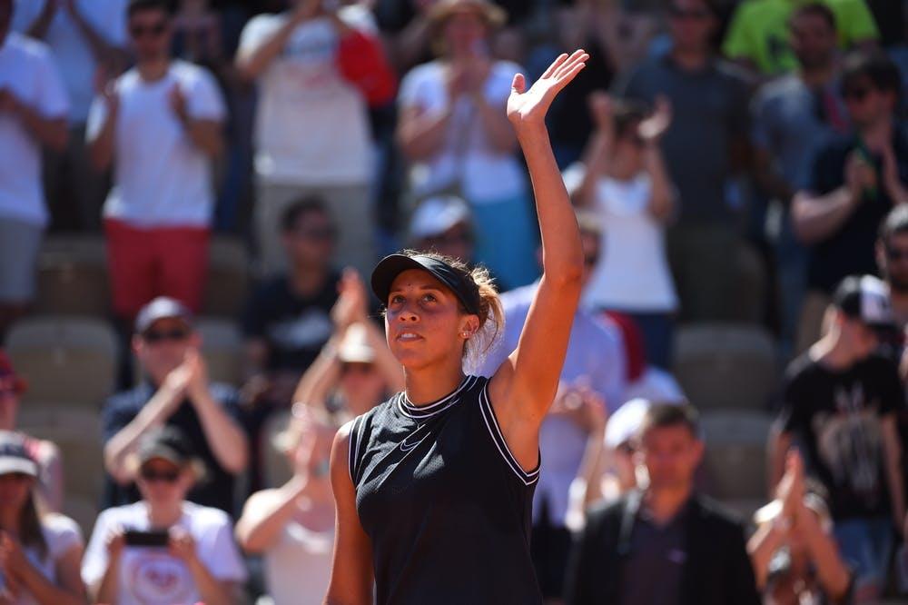 Madison Keys Roland Garros 2019 third round
