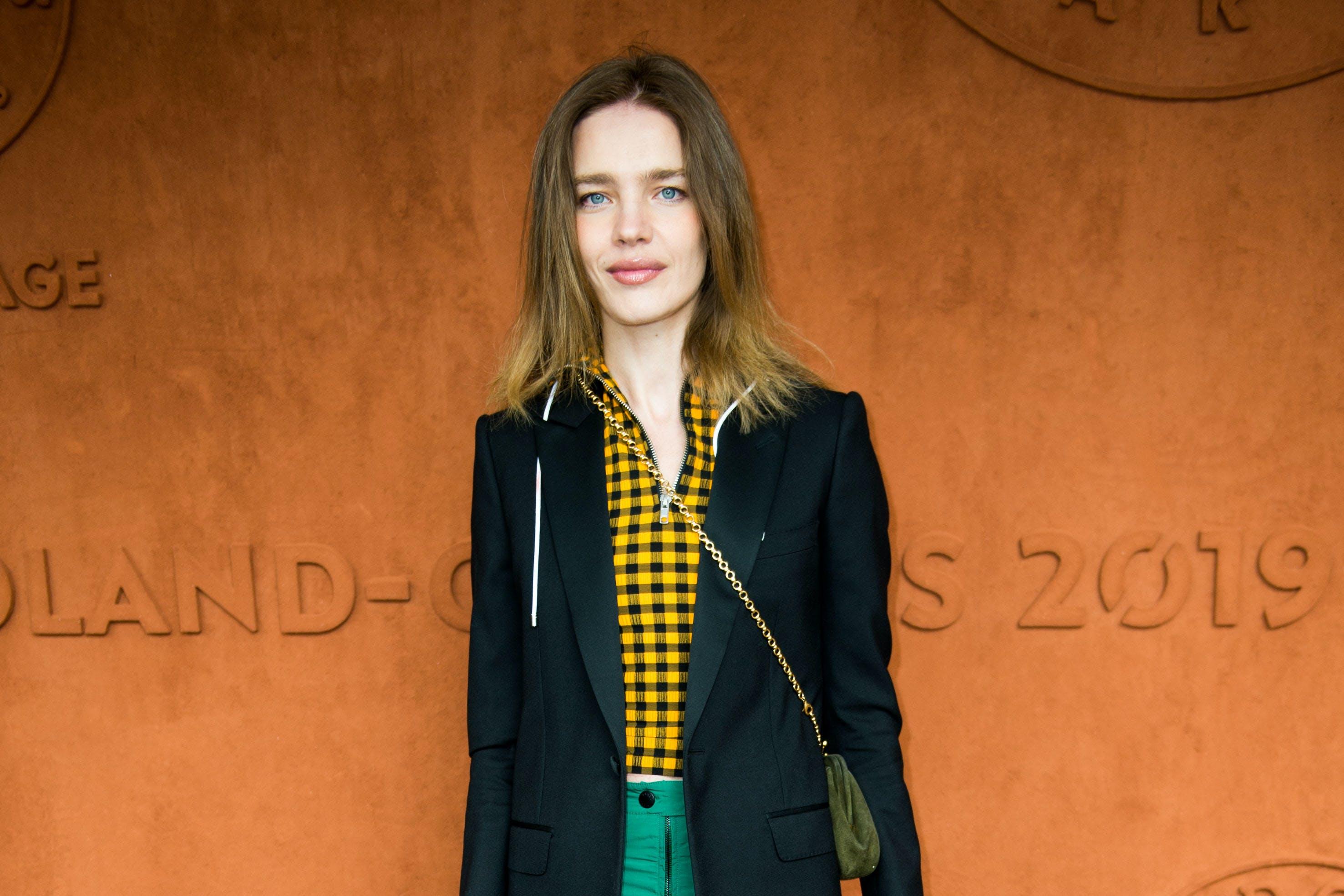 Model Natalia Vodianova Roland-Garros 2019