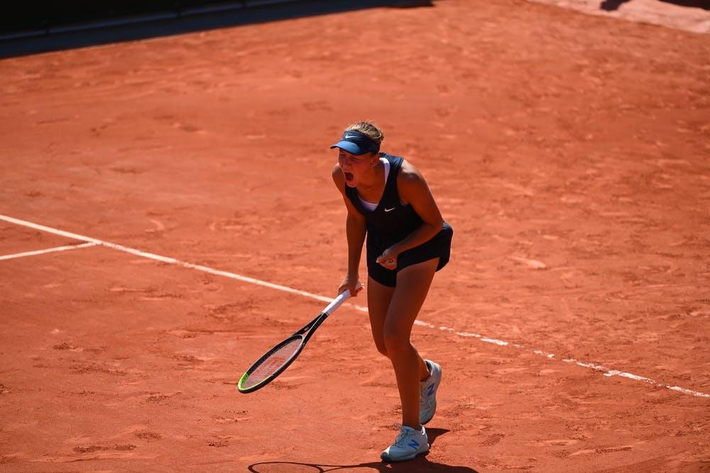 Erika Andreeva, Roland-Garros 2021, girls' singles third round