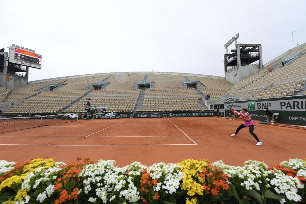 Victoria Azarenka, Court Suzanne-Lenglen, Roland Garros 2020, first round