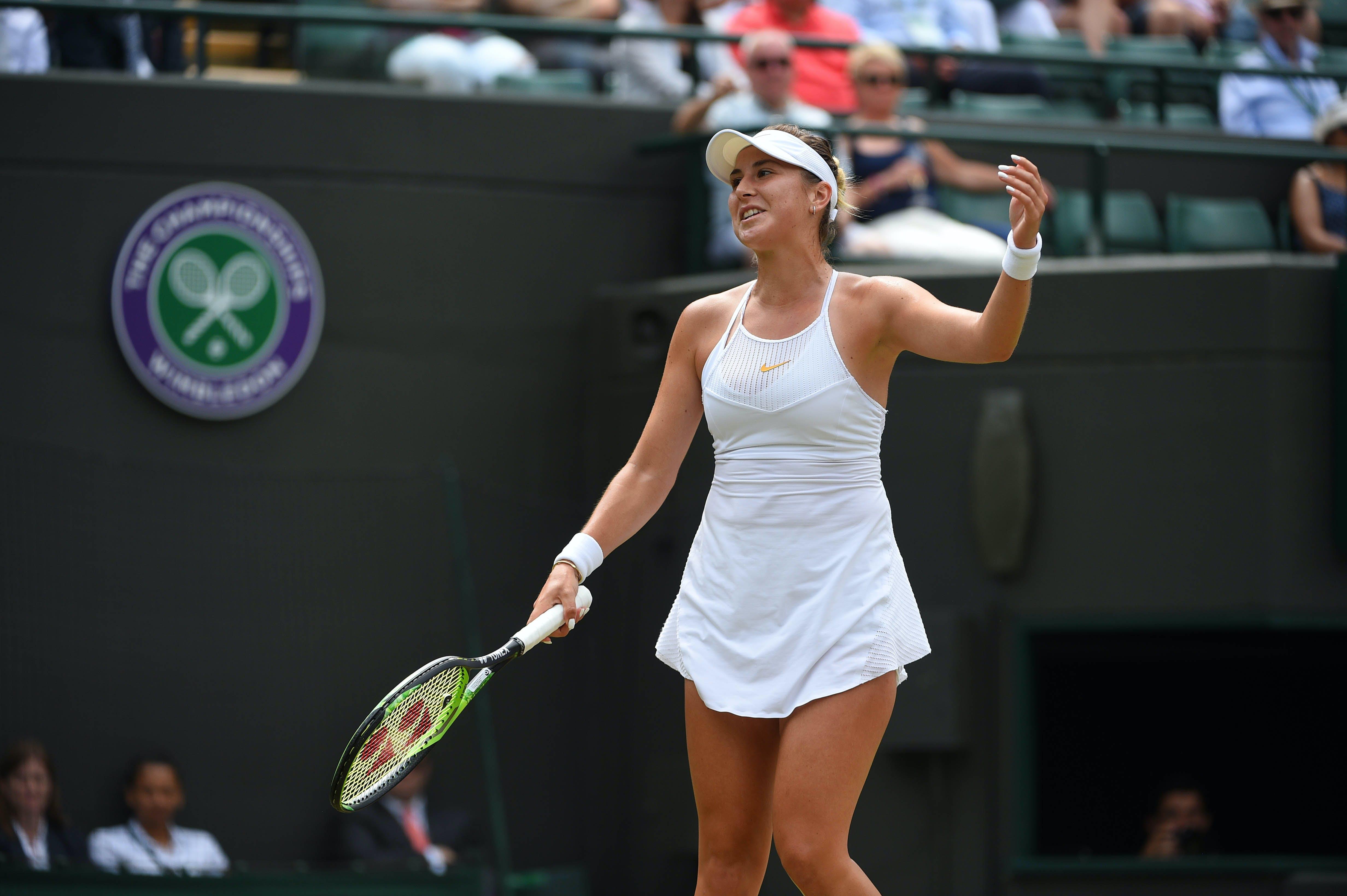 Belinda Bencic Wimbledon 2018