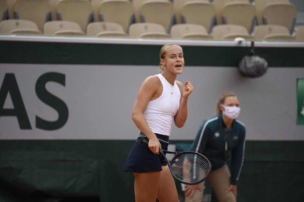 Anna Karolina Schmiedlova, Roland Garros 2020, second round