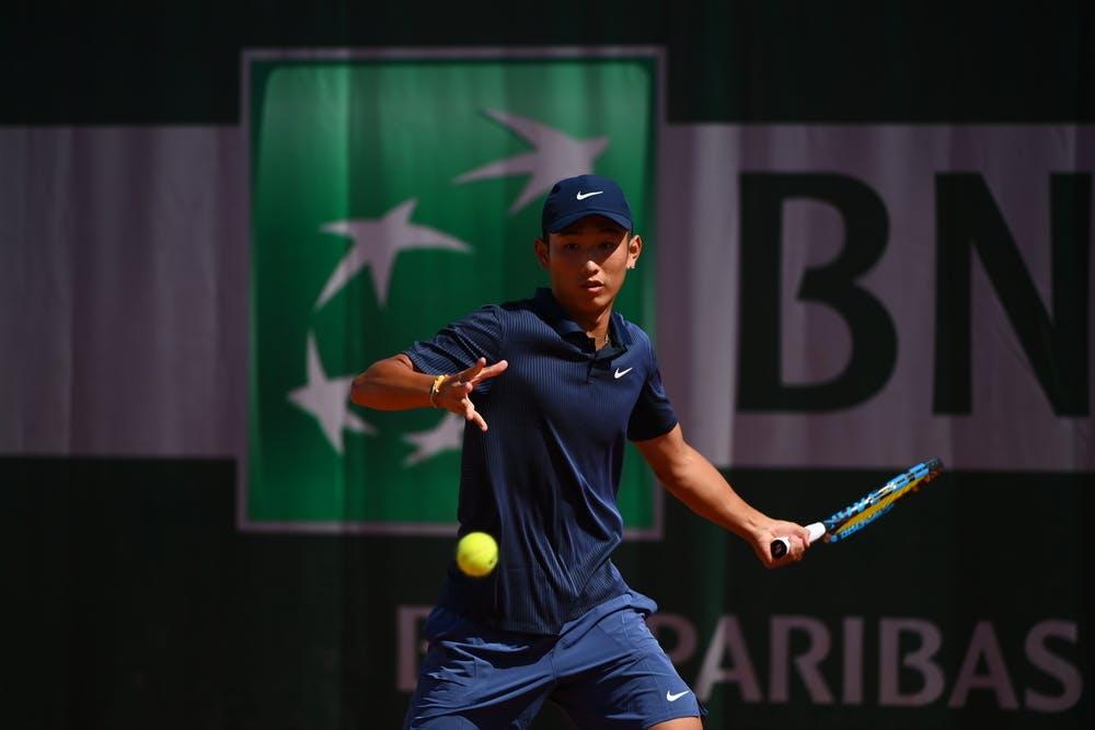 Shang Juncheng, Roland-Garros 2021, boys singles first round