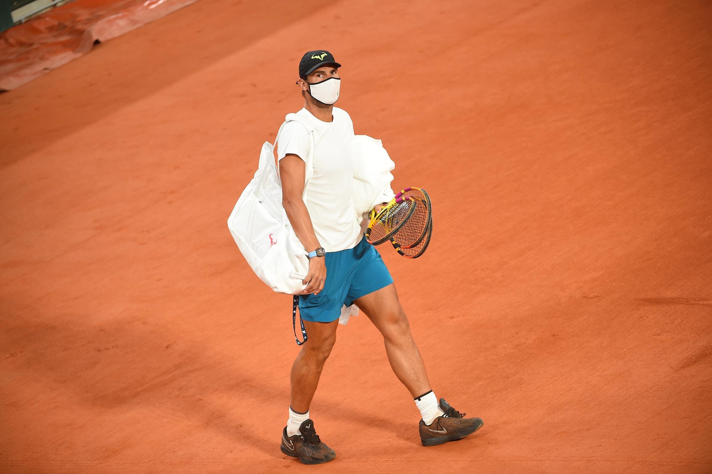 Rafael Nadal mask Roland-Garros 2020