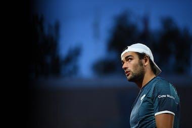 Matteo Berrettini, Roland Garros 2020, second round