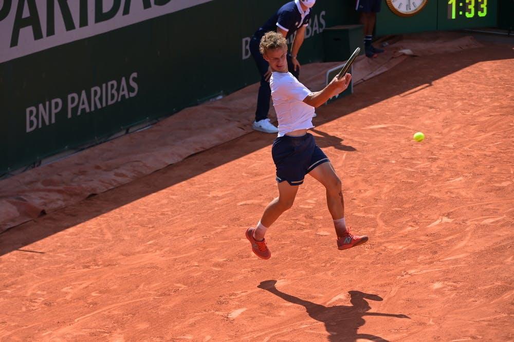 Luca Van Assche, Roland-Garros 2021, boys singles, semi-finals
