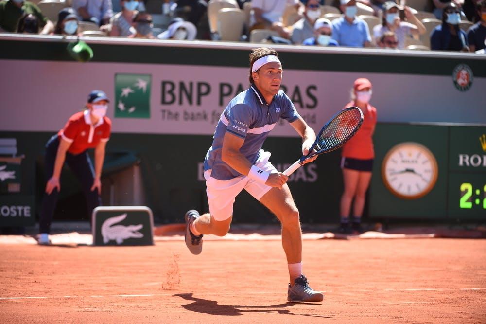 Casper Ruud, Roland Garros 2021, first round