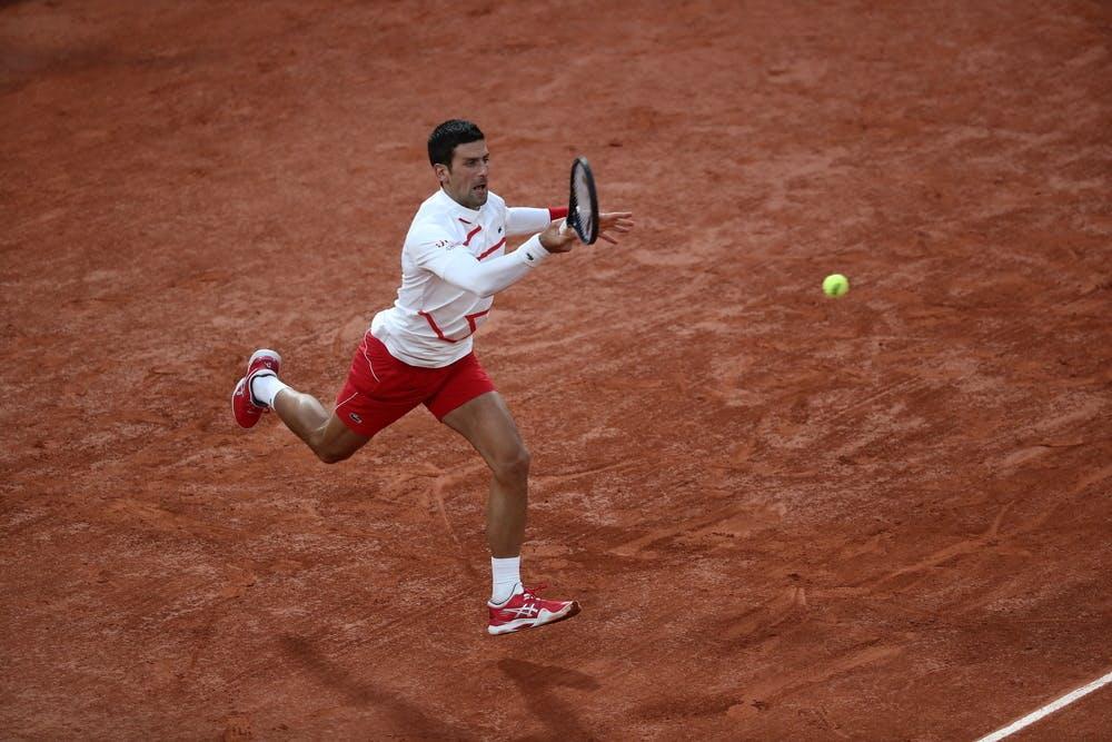 Novak Djokovic, Roland Garros 2020, quarter-finals
