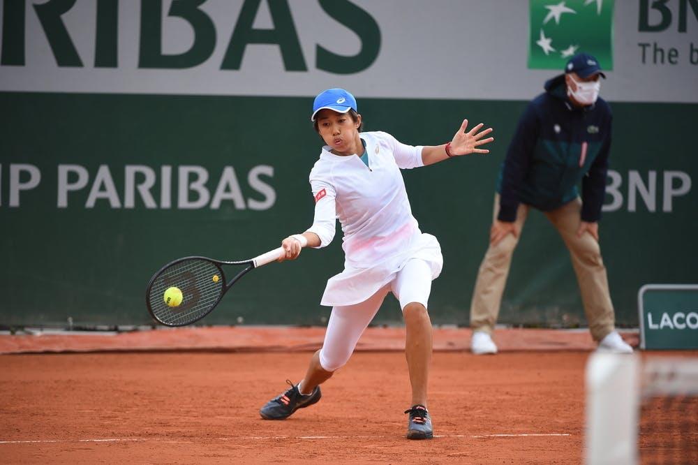 Shuai Zhang, Roland Garros 2020, first round