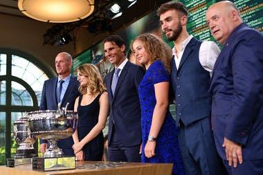 Tirage au sort de Roland-Garros 2018 à l'Orangerie