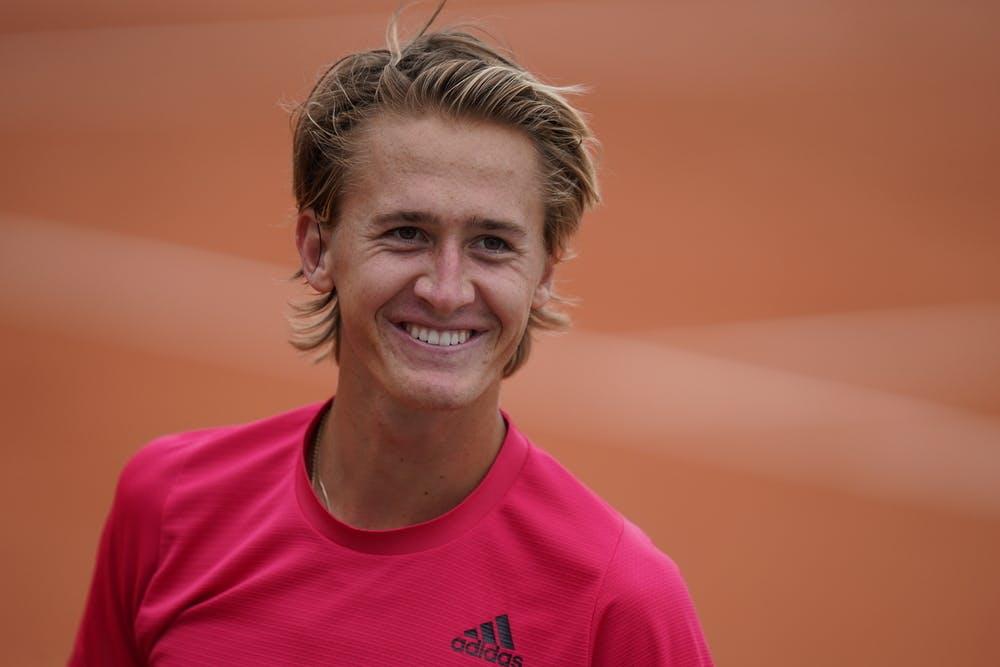 Sebastian Korda, Roland Garros 2020, second round