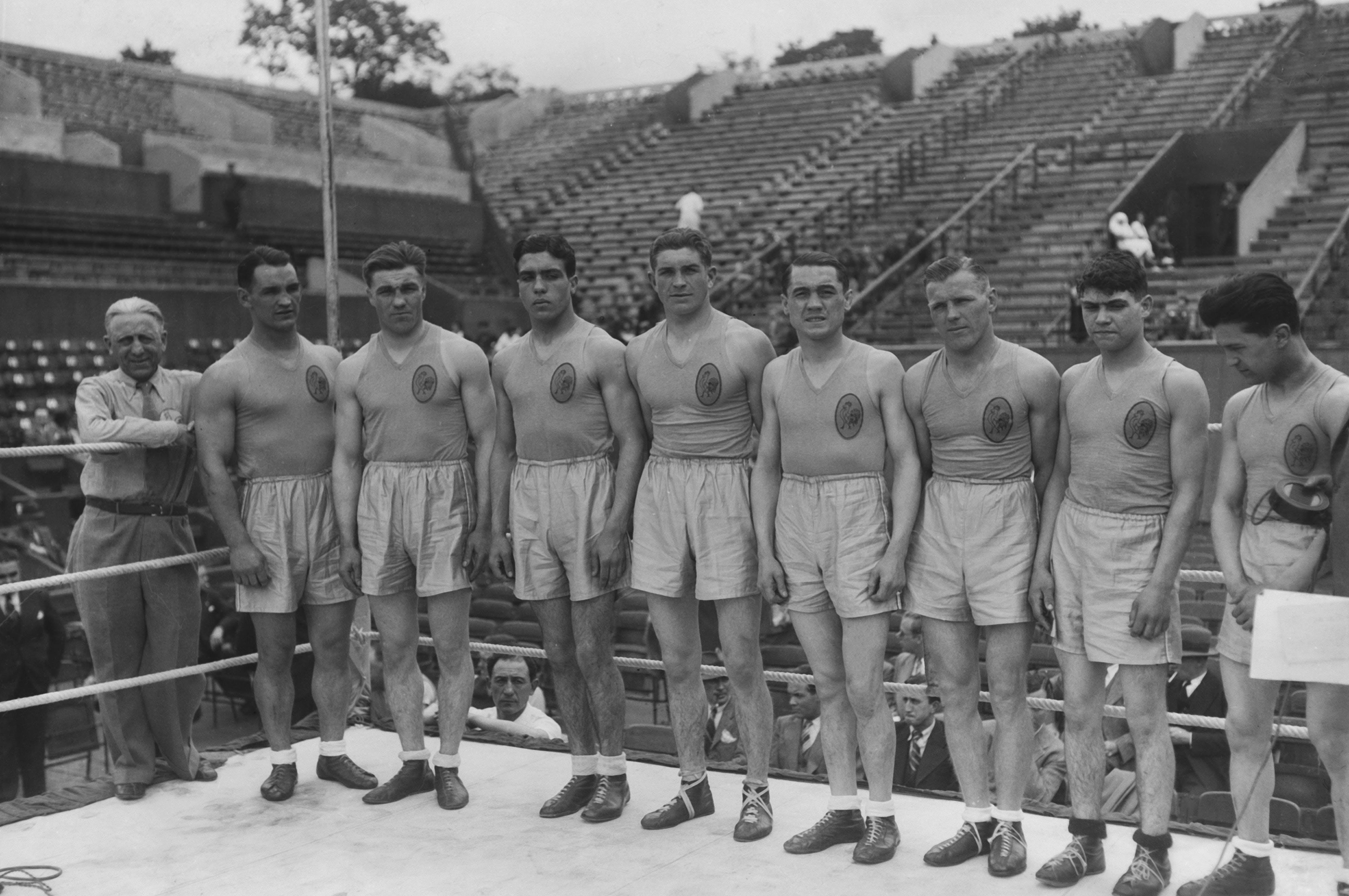 14-15 juin 1935 - Boxe Tournoi préolympique Roland-Garros