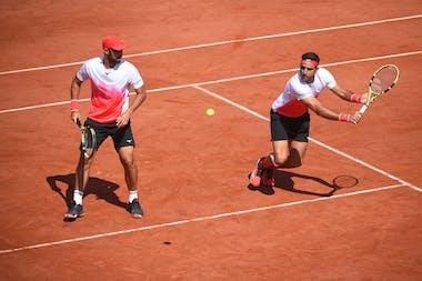 Juan Sebastian Cabal, Robert Farah, Roland Garros 2021, men's doubles quarter-finals