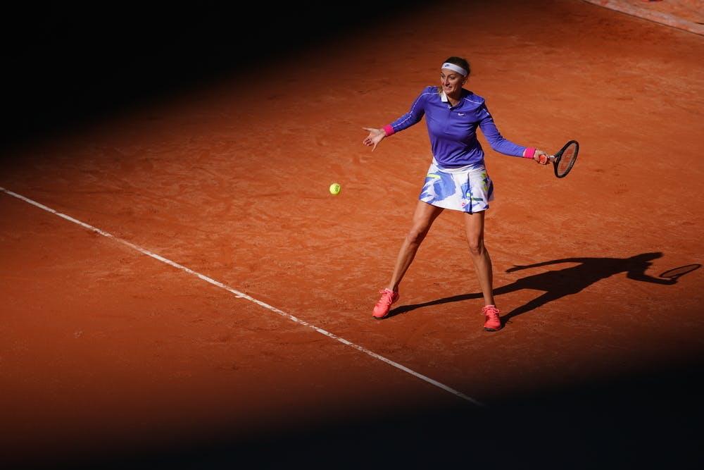 Petra Kvitova, Roland-Garros 2020, 2e tour